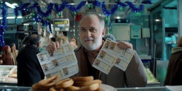 Un fotograma del anuncio de la Lotería de Navidad