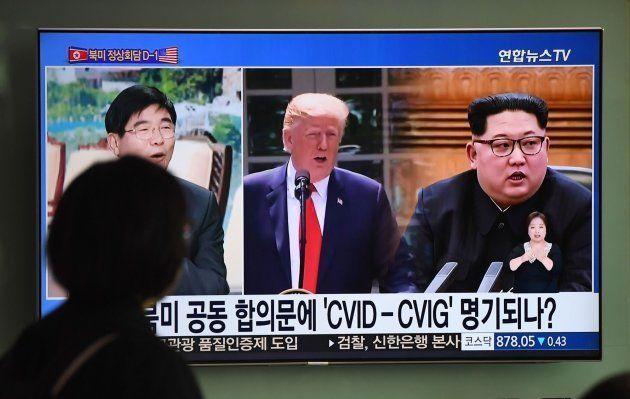 Las cadenas del mundo se hacen eco del encuentro entre Trump y Kim