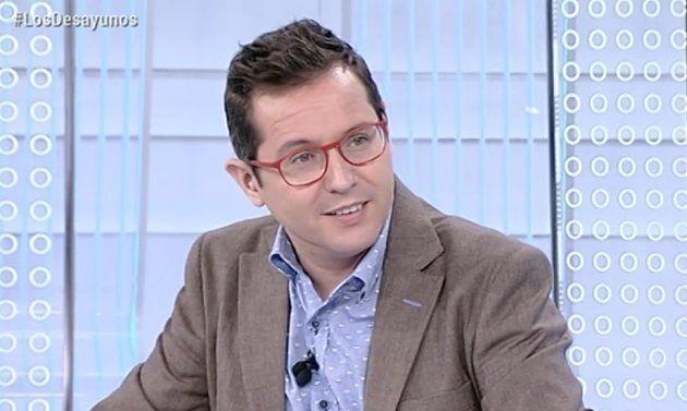 El guiño en directo de Silvia Laplana, mujer del tiempo de TVE, a los Viernes