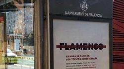 La polémica campaña en Valencia que tacha la palabra