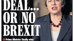 Las portadas británicas del acuerdo del Brexit son muy