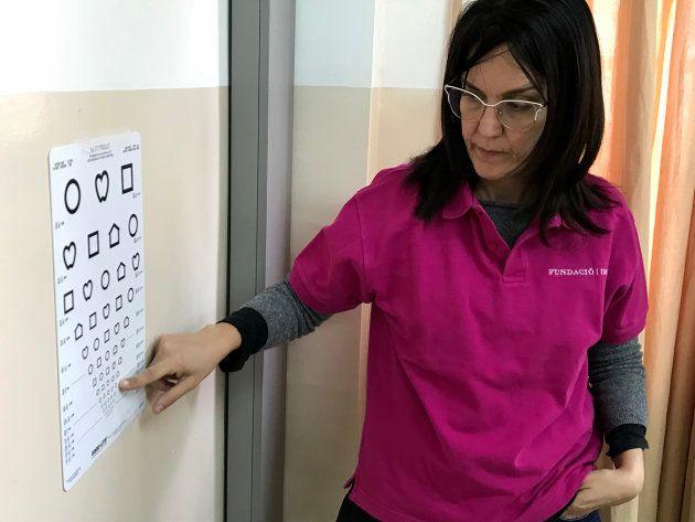 La oftalmóloga pediátrica Ana