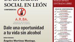 Cachondeo en Twitter con este cartel de una asociación de alcohólicos de