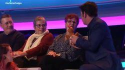 El divertido corte de una señora del público de 'Ahora Caigo' a Arturo