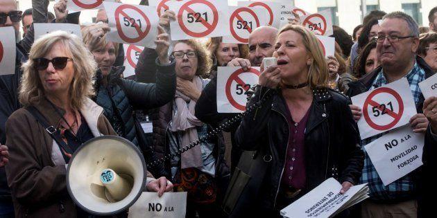 50.000 funcionaros de Justicia, llamados a su primera huelga general en más de veinte
