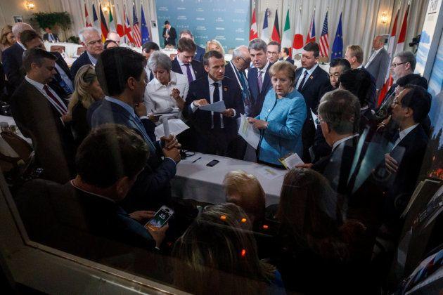 Trump rompe el 'acuerdo de mínimos' del G7 e insulta a