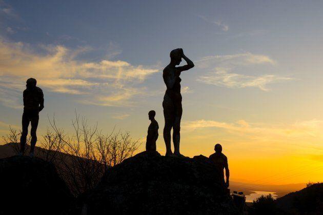 Uno de los pocos monumentos a las víctimas del franquismo en España. Pocas horas después de inaugurarlo...