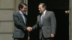 Anguita cuenta por qué no contestó al pésame de Aznar por la muerte de su