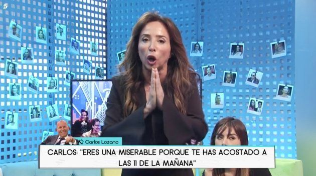 El tremendo cabreo de María Patiño con Carlos Lozano en