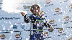 Muere el joven piloto Andreas Pérez tras la grave caída sufrida el domingo en