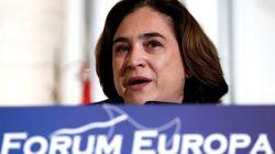 Ada Colau ofrece Barcelona a los inmigrantes del barco