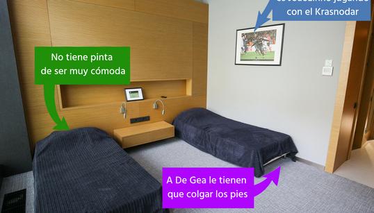 Todo lo que hemos pensado al ver donde dormirán los jugadores de la Selección en