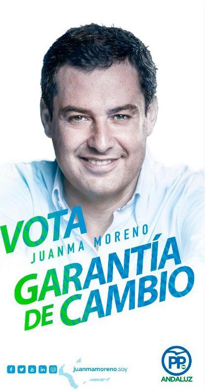 Cartel electoral del Partido