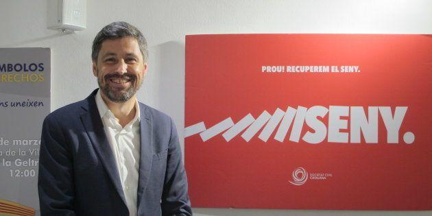El presidente de SCC, José Rosiñol, en la sede de la entidad en