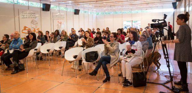 Comienzo del acto de WMagazín Veranos de avances literarios de viva
