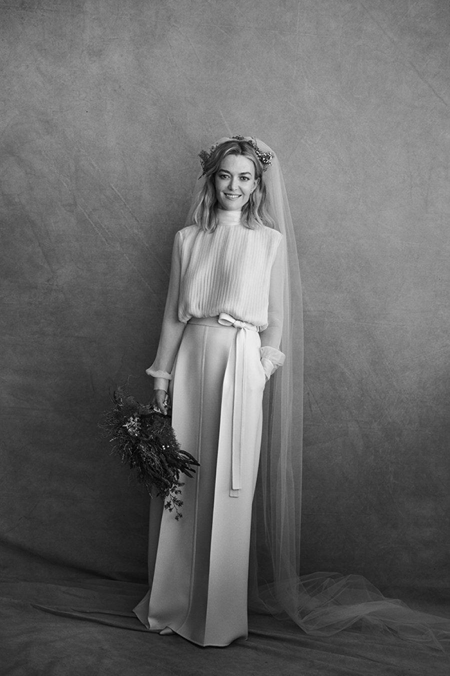 Marta Ortega viste de Valentino en su boda con Carlos