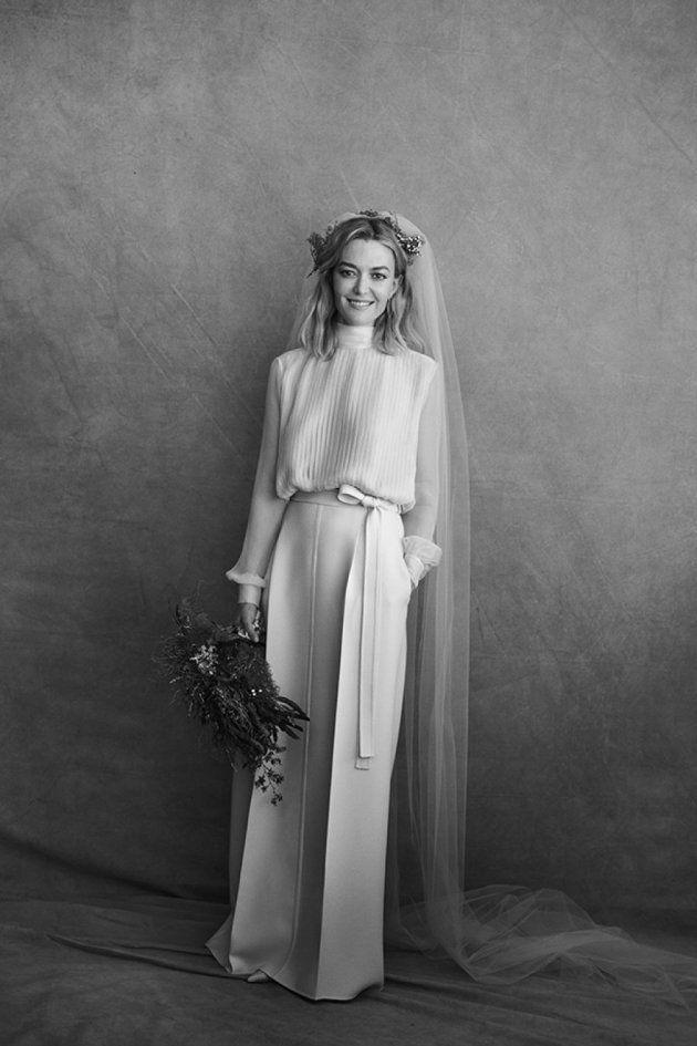 Todos los detalles del vestido de novia de Marta
