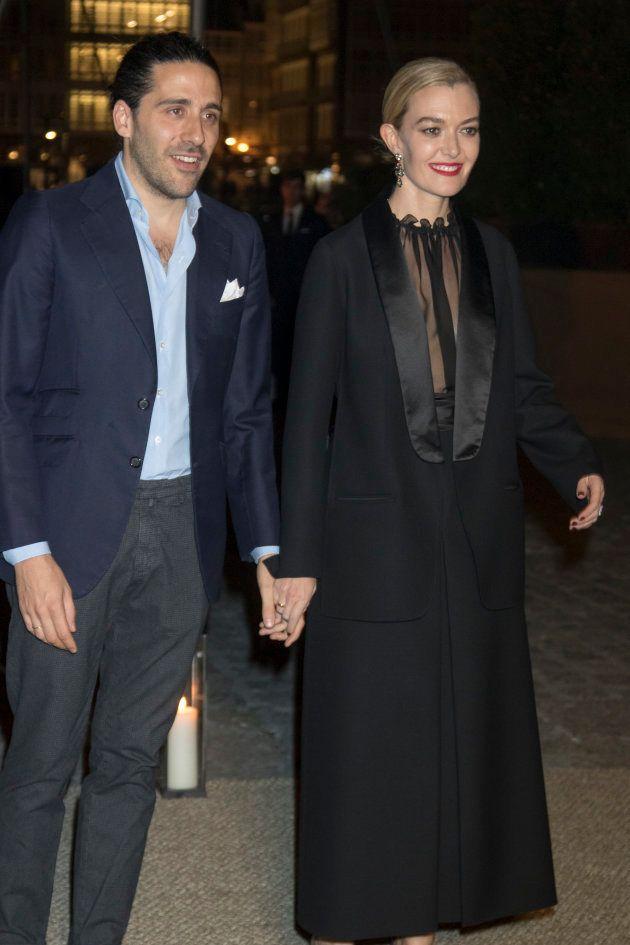 Marta Ortega y Carlos Torretta en la fiesta del viernes en el Club