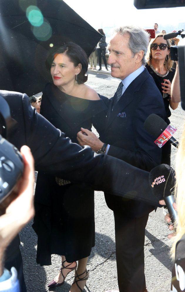 Roberto Torretta y su mujer, Carmen