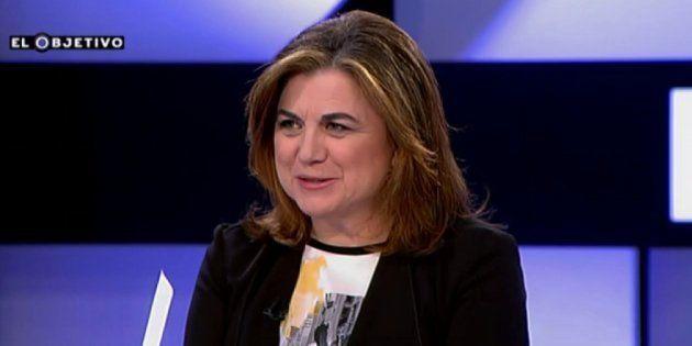 Lucía Méndez felicita a Joaquín Estefanía por su nombramiento en 'El País':