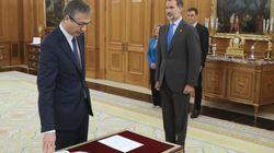 Hernández de Cos ya es el nuevo gobernador del Banco de
