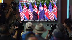 Así ha sido el histórico apretón de manos entre Trump y Kim