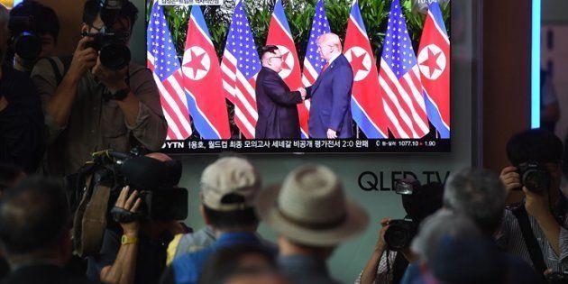 El momento en el que ambos líderes se han