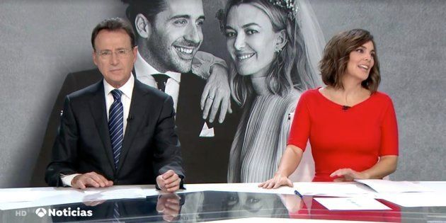 Mónica Carrillo y Matías Prats, de 'Antena 3 Noticias Fin de