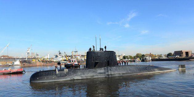 Submarino argentino ARA San