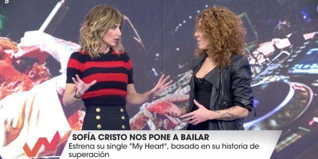 Emma García conversa con Sofía Cristo en 'Viva la