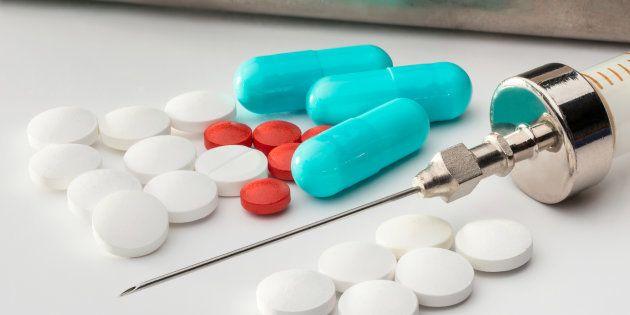 Medicamentos en cápsulas y