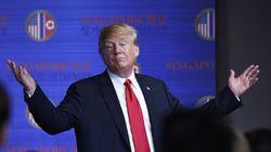 Trump anuncia que suspenderá las maniobras militares de EEUU en