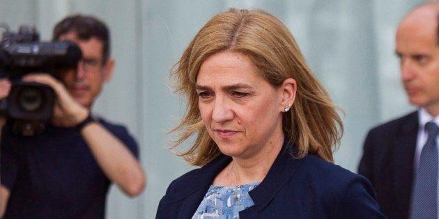 El Supremo reduce en 128.000 euros la responsabilidad civil a la infanta