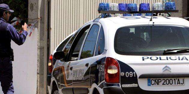 Un coche policial, en una imagen de
