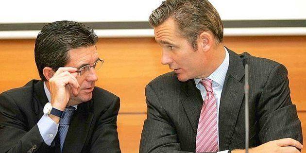 Jaume Matas e Iñaki Urdangarin, en una imagen de