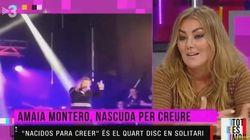 Amaia Montero justifica su desastrosa actuación en