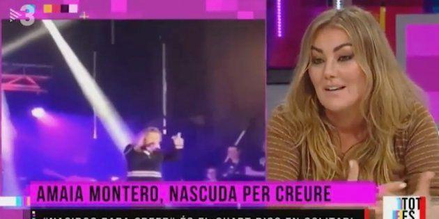 Amaia Montero culpa al sonido del desastroso concierto de
