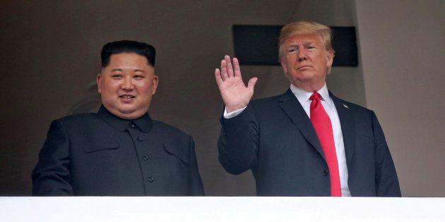Imagen de Kim y Trump este