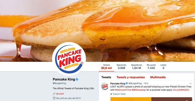 El troleo de Burger King a otra cadena de comida que ha