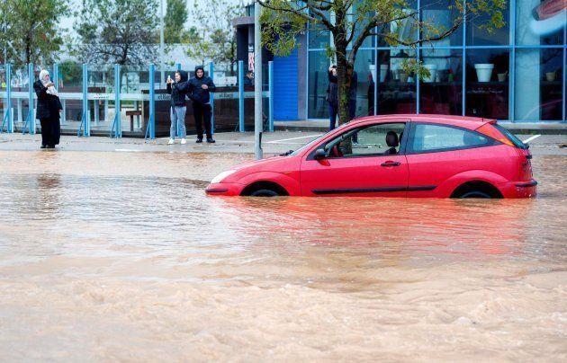 Inundaciones en Figueras