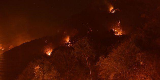 Imagen de archivo del fuego en