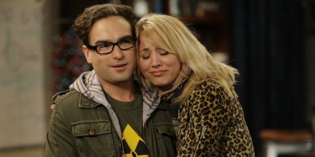 Penny y Leonard, de 'The Big Bang