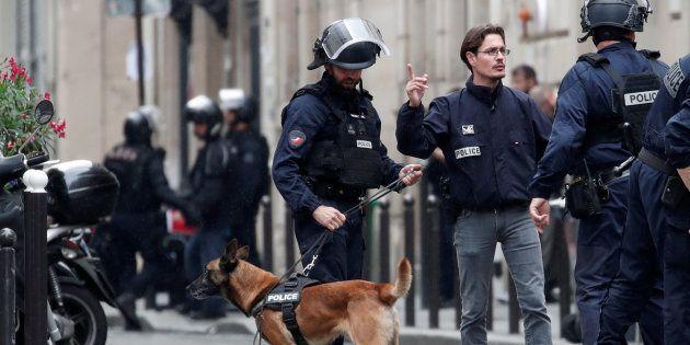 Dispotivo policial desplegado en