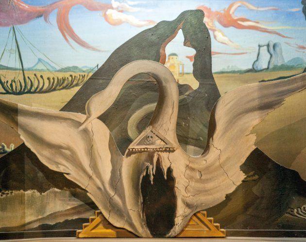 Maqueta para 'Bacchanale', 1939. Museo Nacional del Teatro,