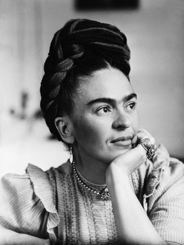 Retrato de Frida Kahlo.