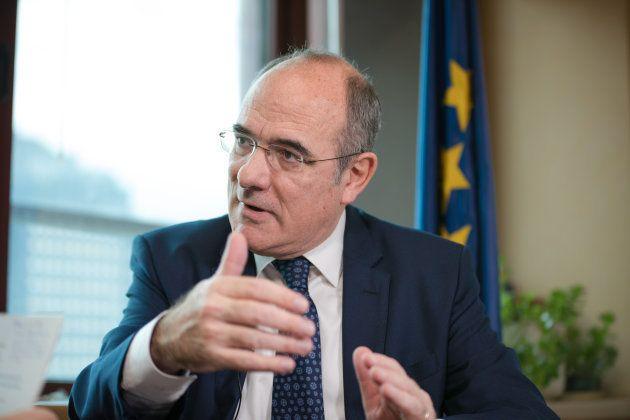 Jaume Duch durante la entrevista con El