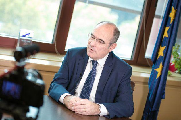 Duch durante la entrevista con El