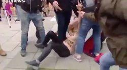 Esta es la imagen que da España en el extranjero tras la agresión de los fascistas a