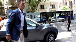 Urdangarin, ya en Palma para recibir la notificación de