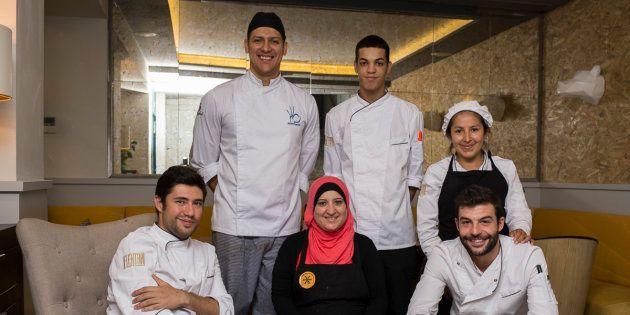 Algunos de los chefs participantes en la edición de Madrid del año